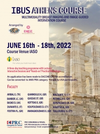 IBUS 2020 - ATHENS COURSE- POSTPONED TO JUNE 03-05,2021